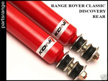 Rear Koni Shock Absorbers Land Rover Suspension Disco Classic Performance